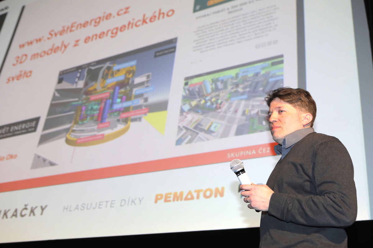 Martin Schreier z ČEZ promluvil o Smart City ve 3D