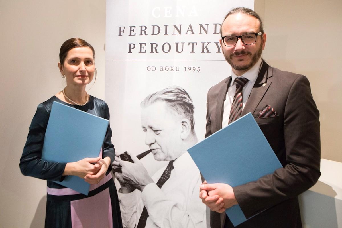 Jana Klímová a Jakub Szántó. Foto: Irena Vodáková