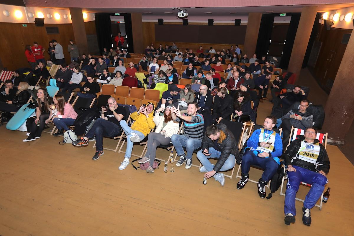 Tradičním dějištěm AppParade je bio Oko na Praze 7. Foto: Tomáš Pánek
