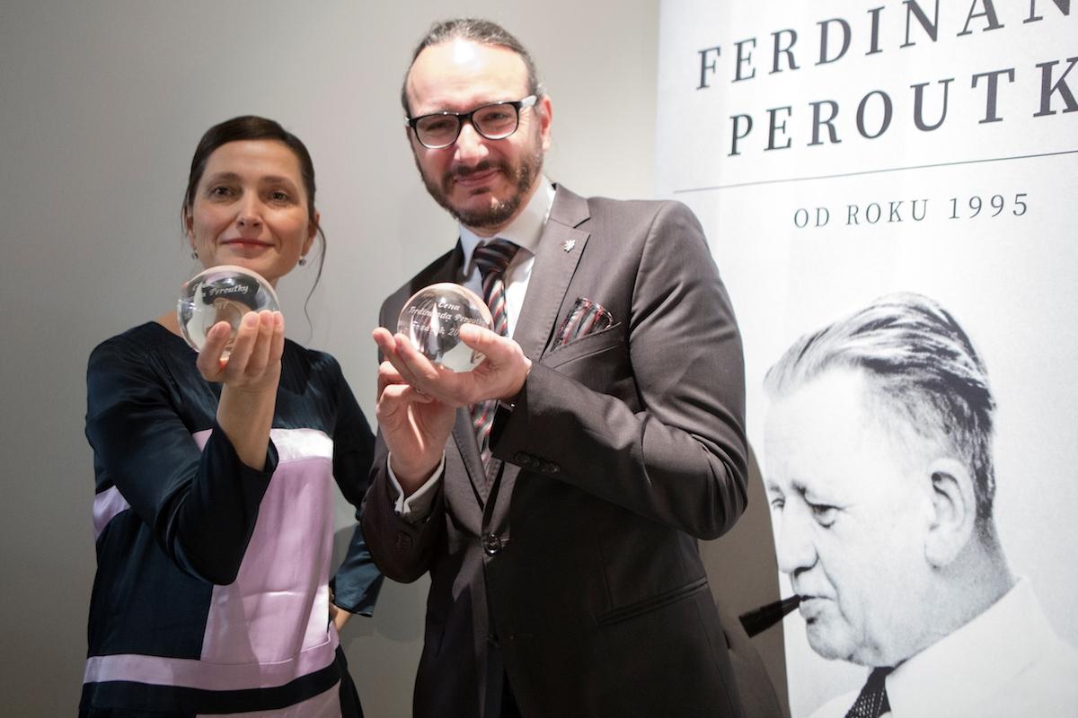 Jana Klímová a Jakub Szántó s trofejemi. Foto: Irena Vodáková