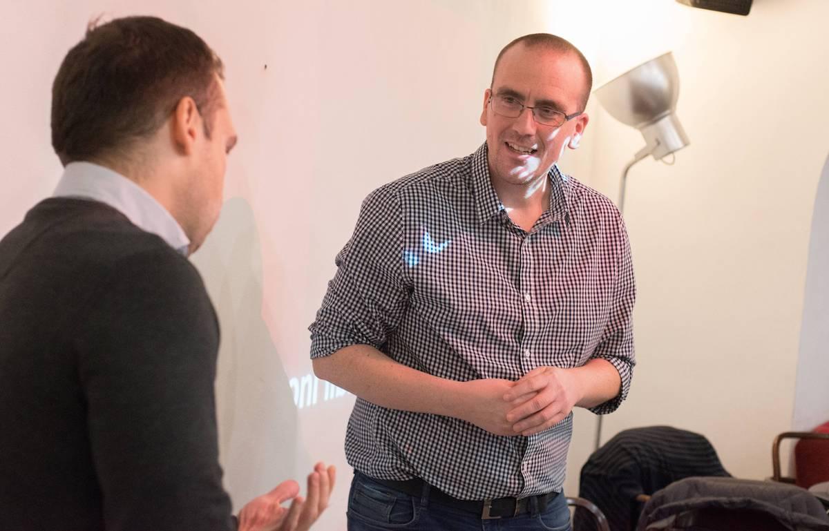 Setkání tradičně zahájil předseda digitální sekce AKA Petr Laštovka z Comtechu