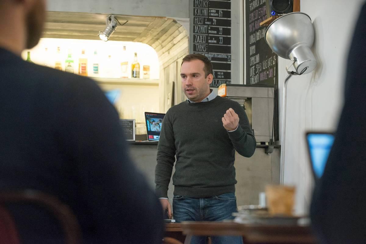 Alan Ostárek v Ponrepu. Foto David Bruner
