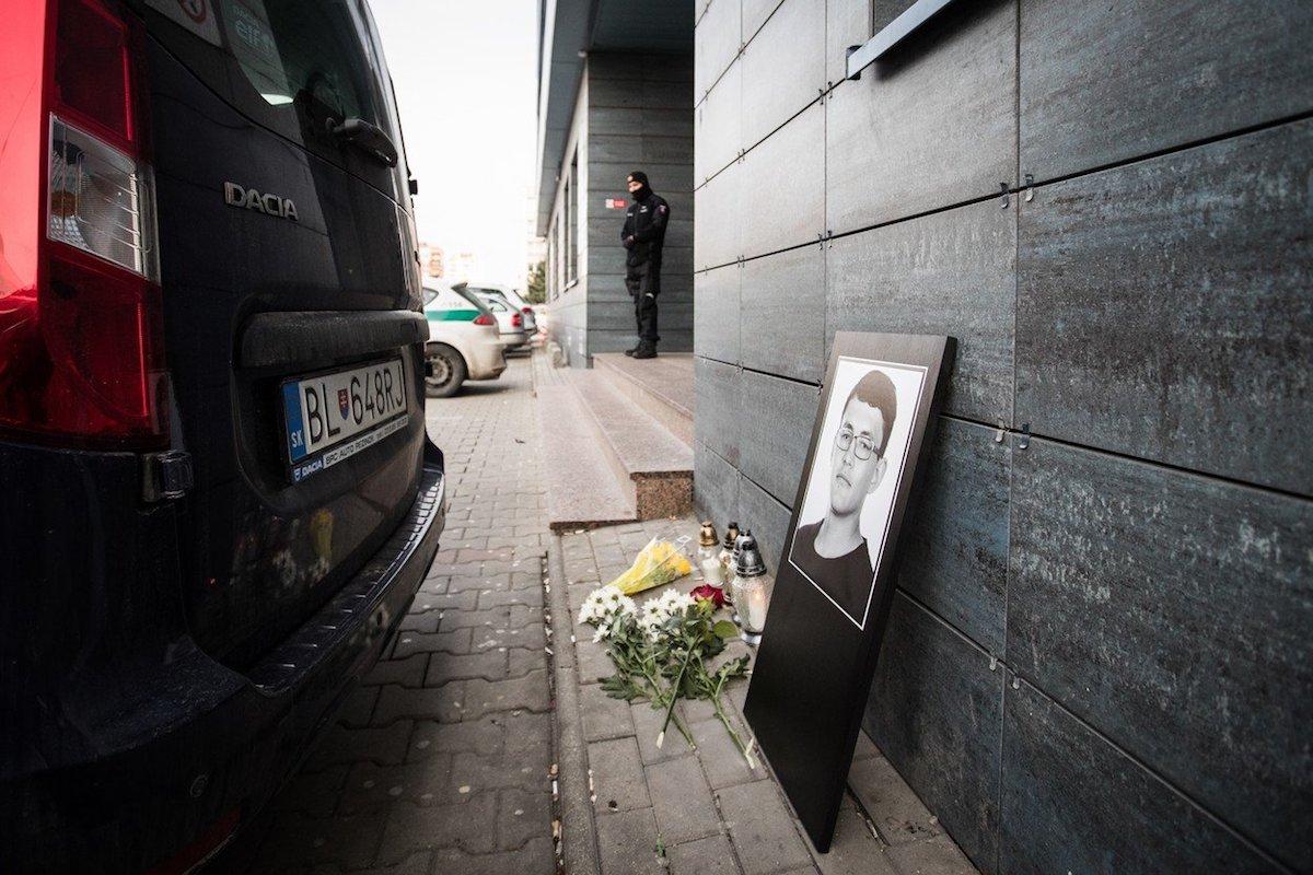 Podobizna zavražděného Jána Kuciaka. Foto: Profimedia.cz