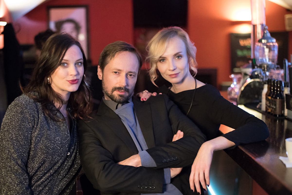 Jaroslav Plesl, Kristýna Leichtová a Jana Plodková v Single Lady 2. Foto: Mafra