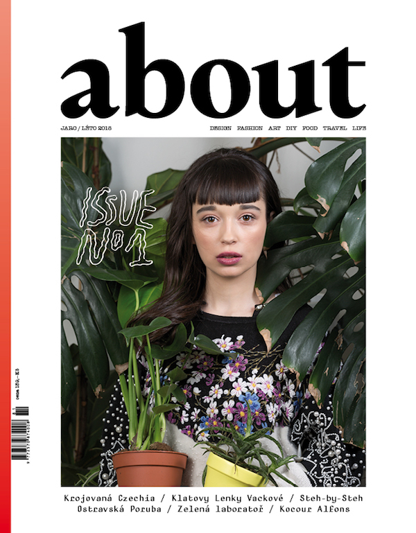 Titulní stránka prvního vydání časopisu About