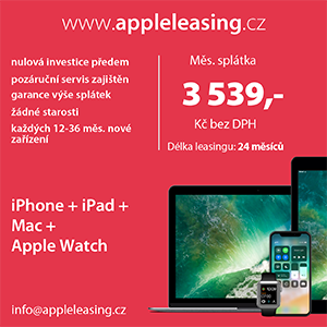 Apple na leasing?