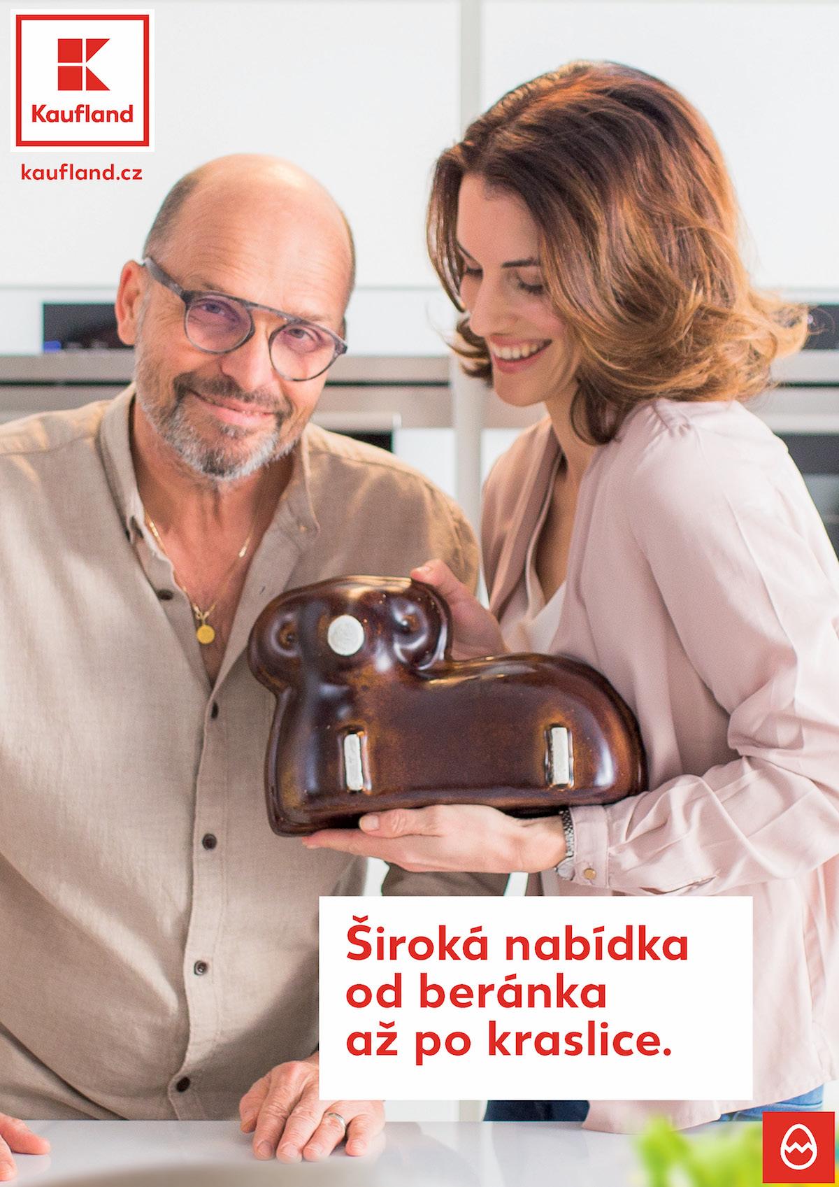 Zdeněk Pohlreich a Lucie Křížková pro Kaufland