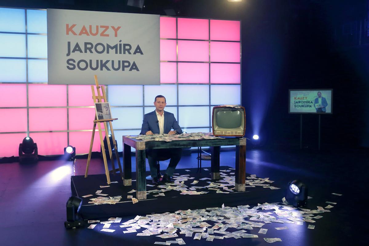 Kauzy Jaromíra Soukupa. Foto: TV Barrandov