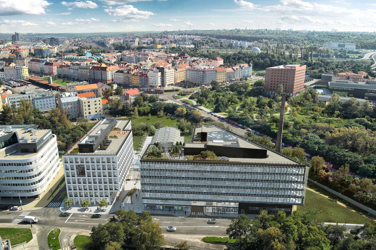 Palmovka Open Park. Foto: Metrostav Development