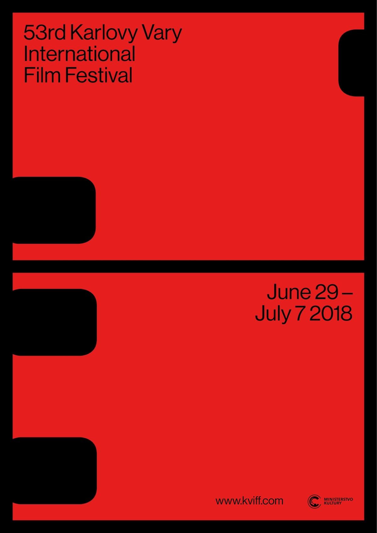 Plakát 53. ročníku filmového festivalu v Karlových Varech