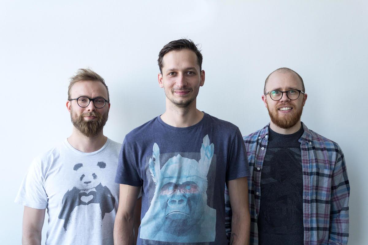 Majitelé PPC Bee. Zleva: Pavel Vachek, Ondřej Bartas, Jirka Zajpt
