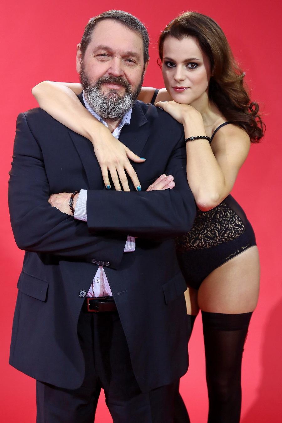 Josef Kokta a jeho Ornella. Foto: TV Prima