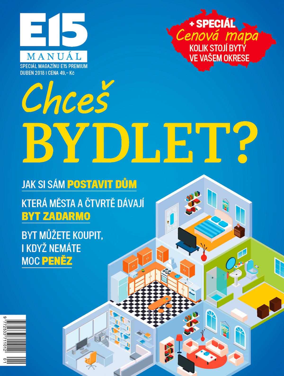 Úvodní vydání magazínu E15 Manuál
