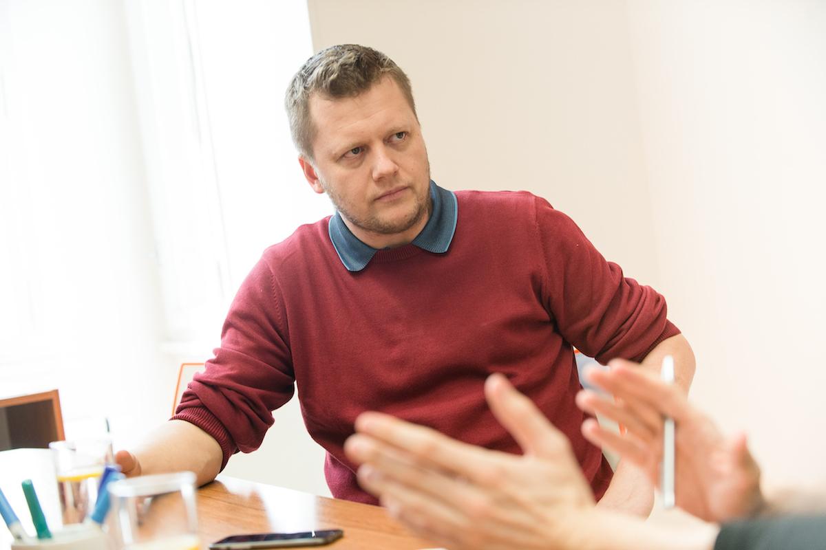 Petr Lesenský. Foto: David Bruner