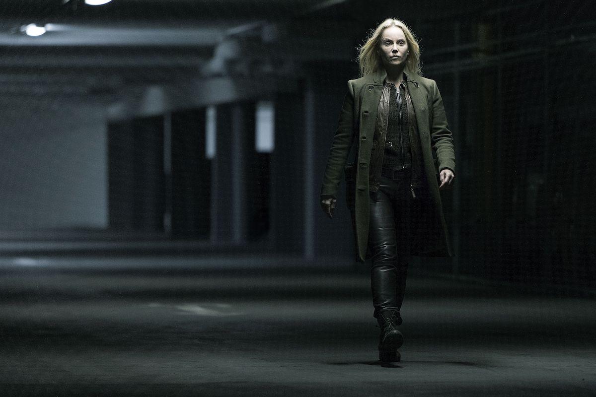 Sofia Helin jako Saga Norén v populárním seriálu Most. Foto: Jens Juncker