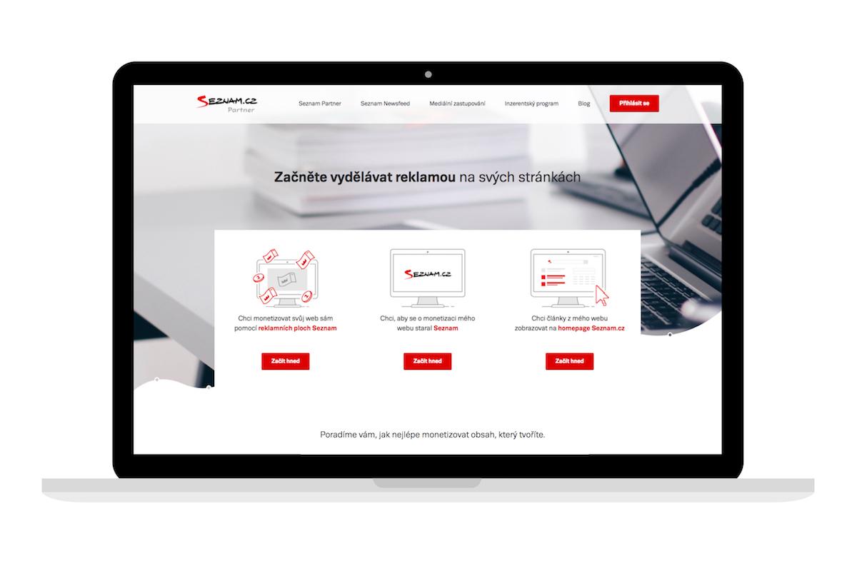Nové rozhraní služby Seznam Partner