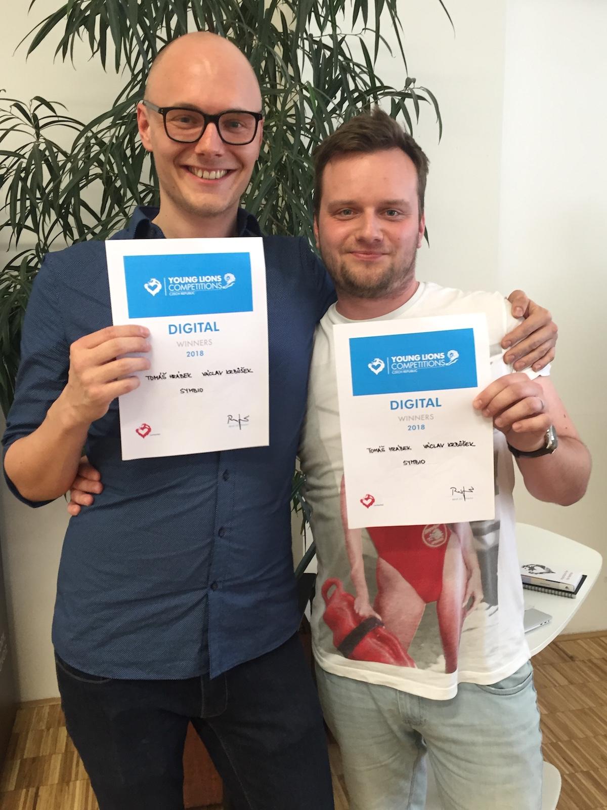Vítězné duo ze Symbia