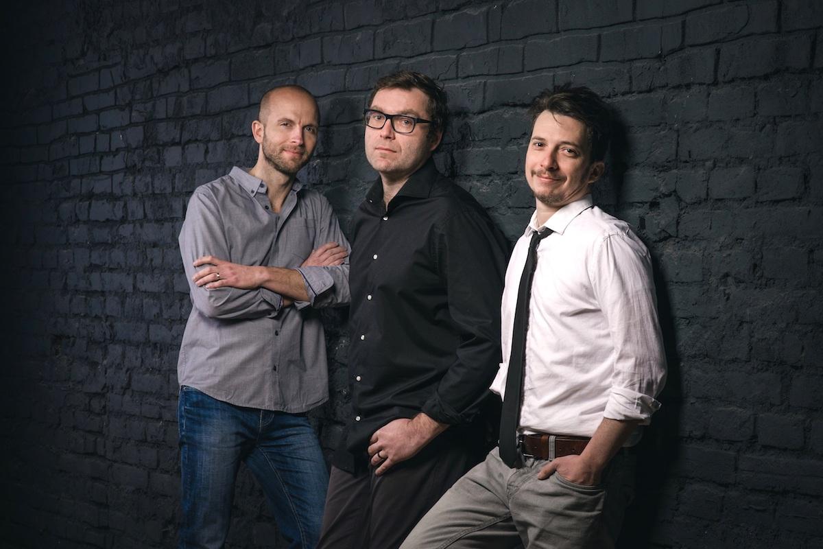 Zleva šéfproducent Lukáš Záhoř, kreativní producent Milan Kuchynka a šéfdramaturg Martin Krušina. Foto: Mall Group