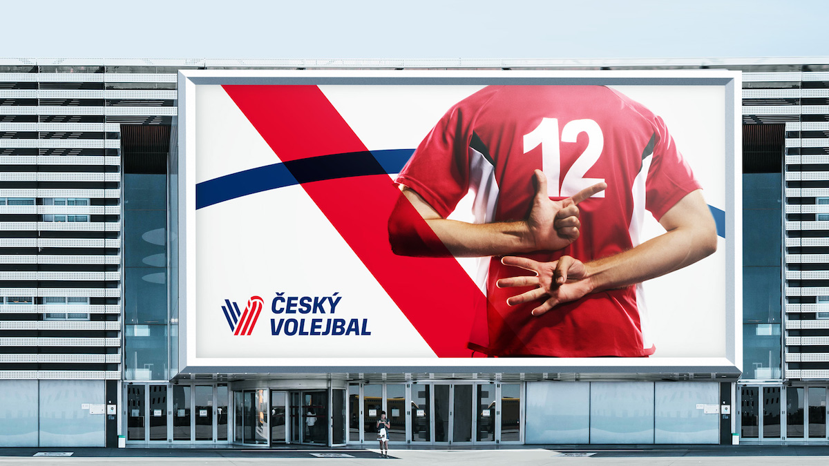 Užití značky Český volejbal