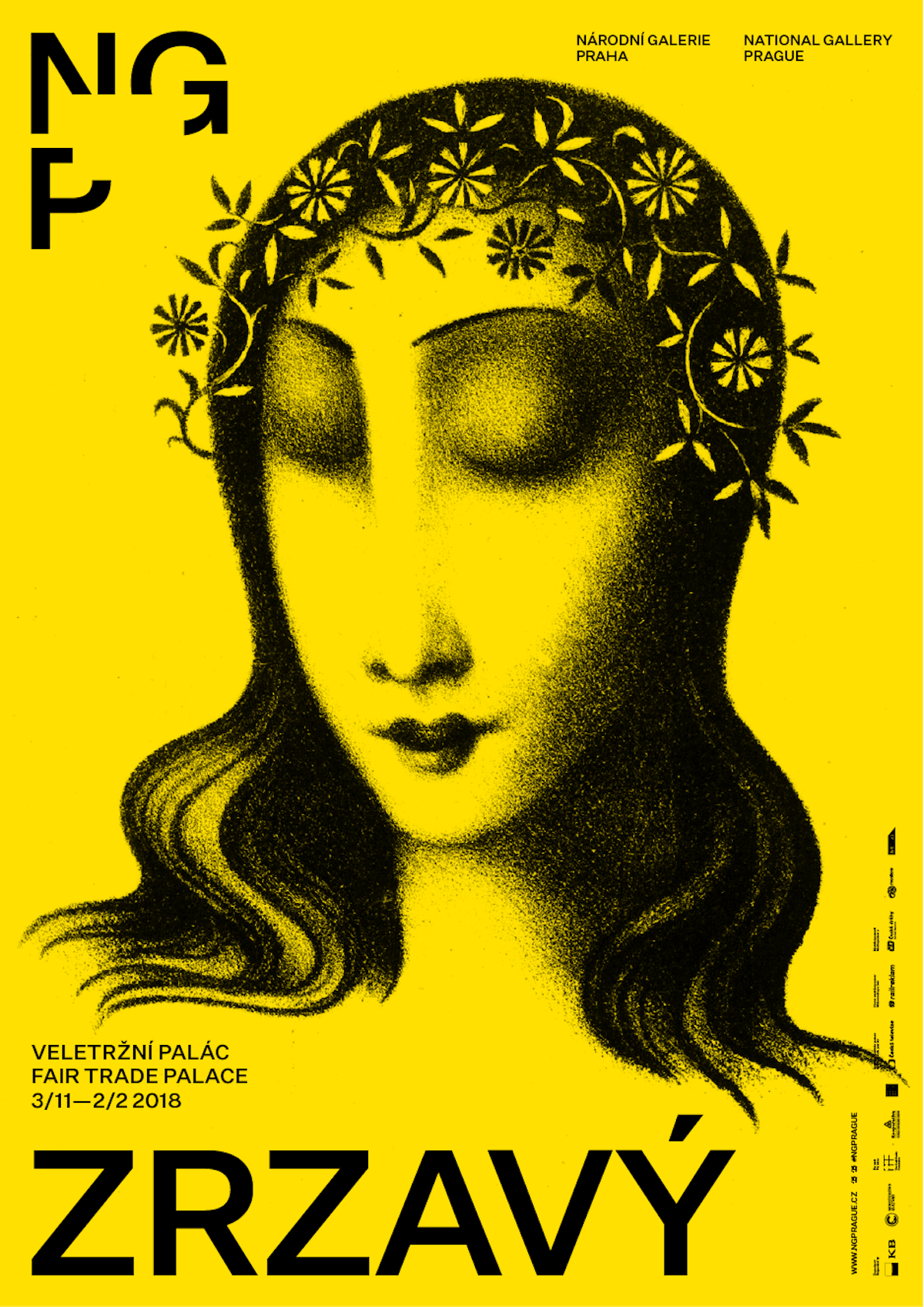 Vizuální identita Národní galerie Praha podle návrhu Studia Najbrt