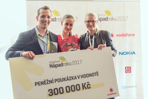 Rubikon pro iCollege, Upvest a soutěž Vodafonu