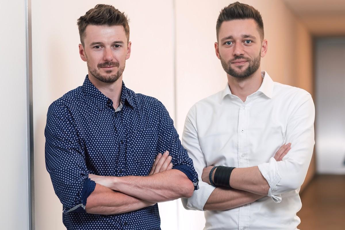 Adam Chudárek a Juraj Felix. Foto: Mall Group