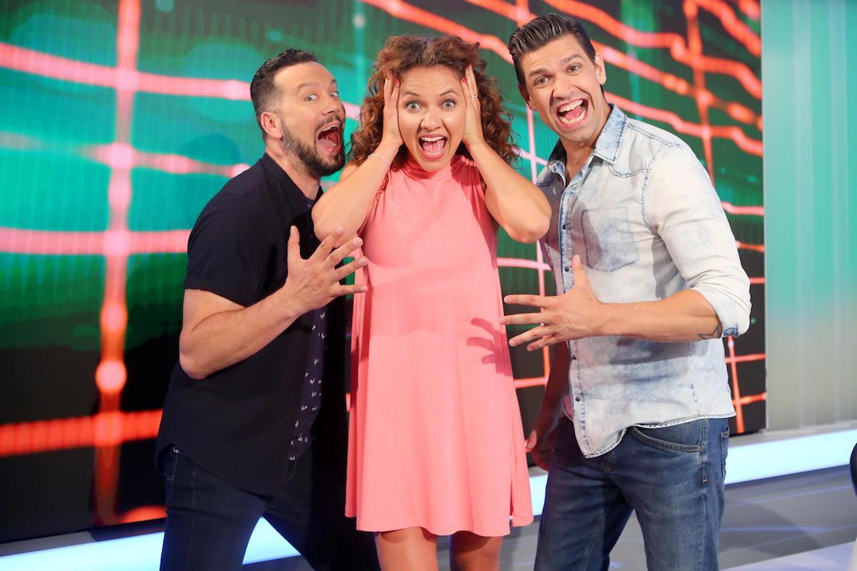 Zleva Michal Kavalčík, Andrea Košťálová, Petr Vojnar. Foto: TV Prima