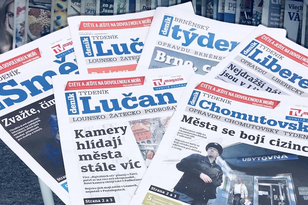 Týdeníky Vltava Labe Media