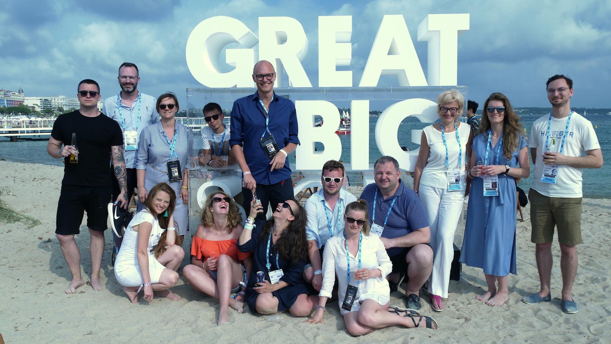 Letošní česká delegace Young Lions v Cannes