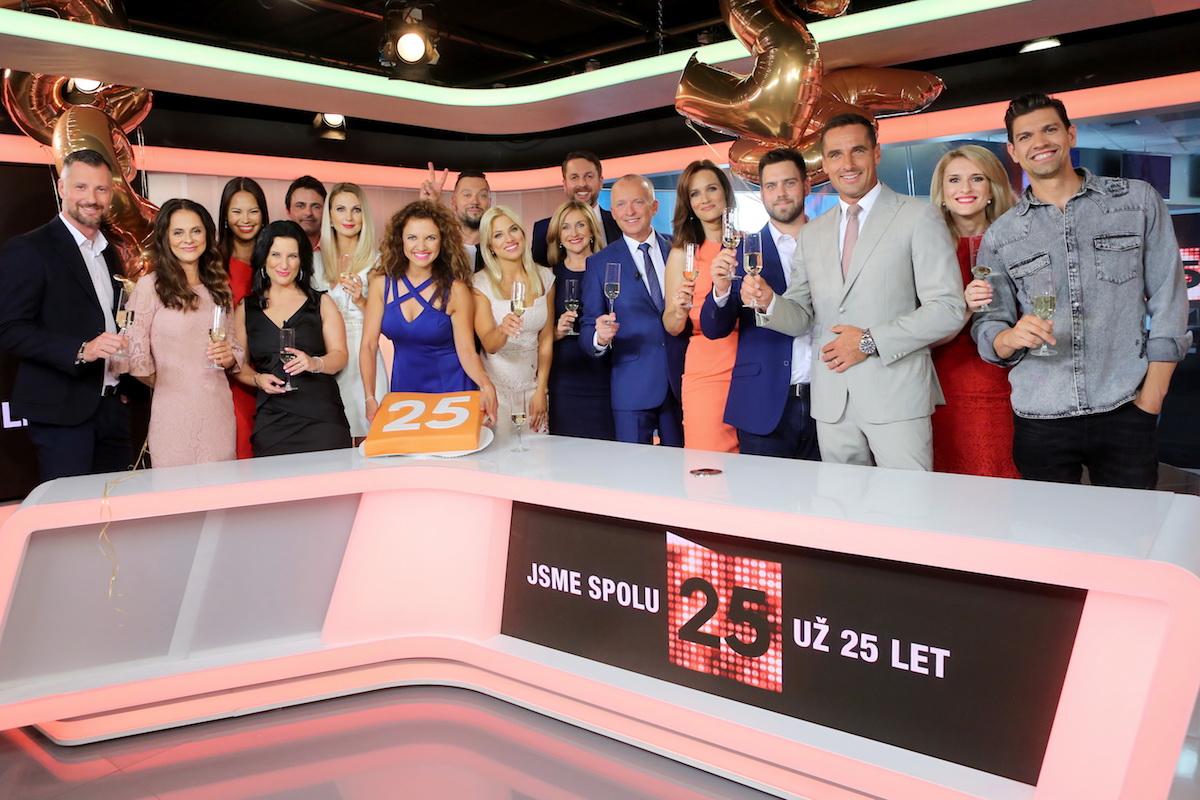 Tváře zpravodajství a publicistiky. Foto: TV Prima