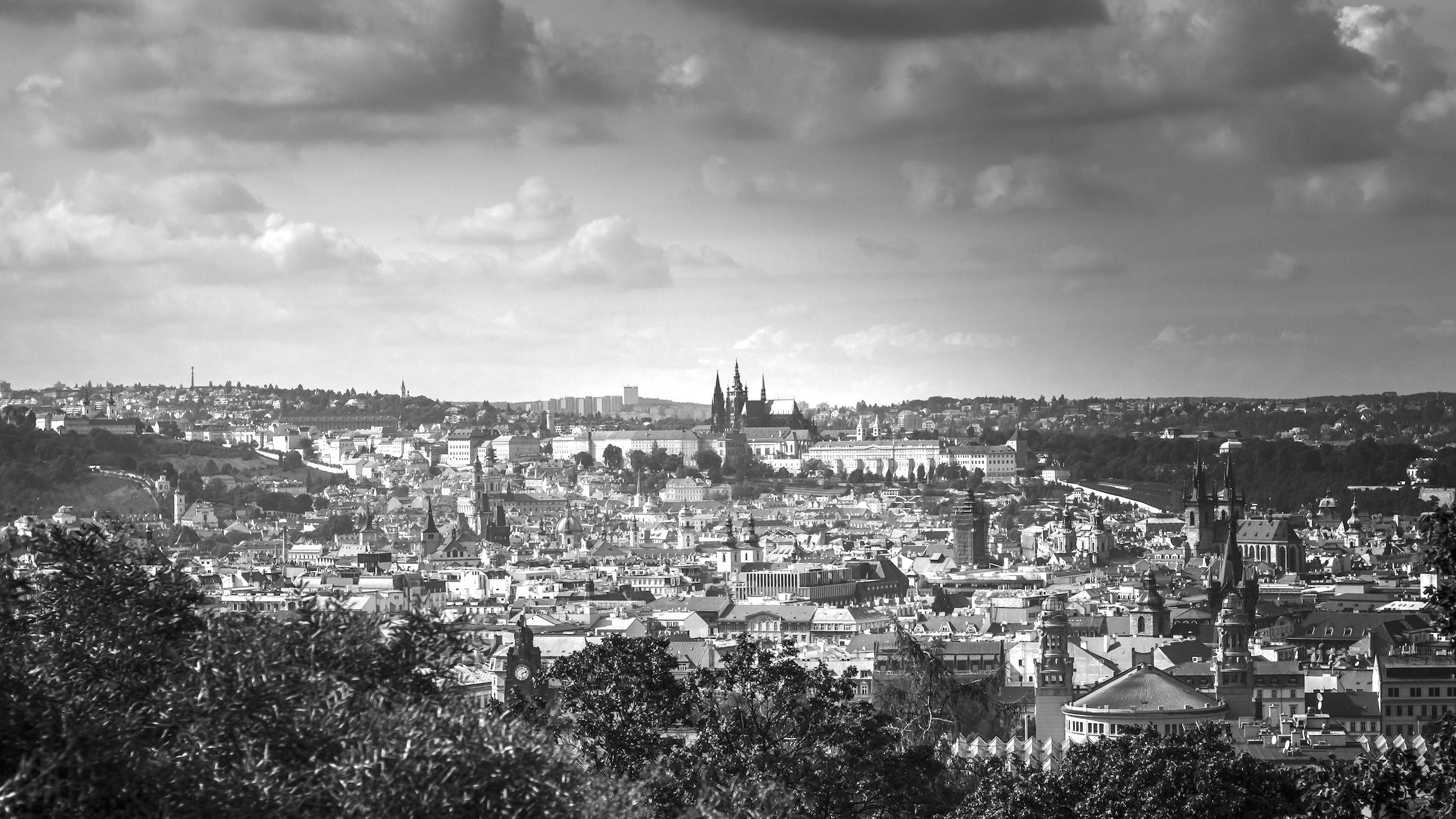 McCann Prague sídlí v Riegrových sadech, i takový výhled mají lidé z oken agentury