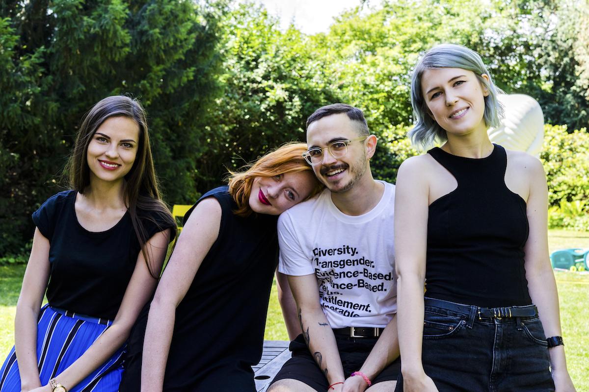 Adéla Marešová, Martina Houlíková, Šimon Novák, Nikola Světlíková