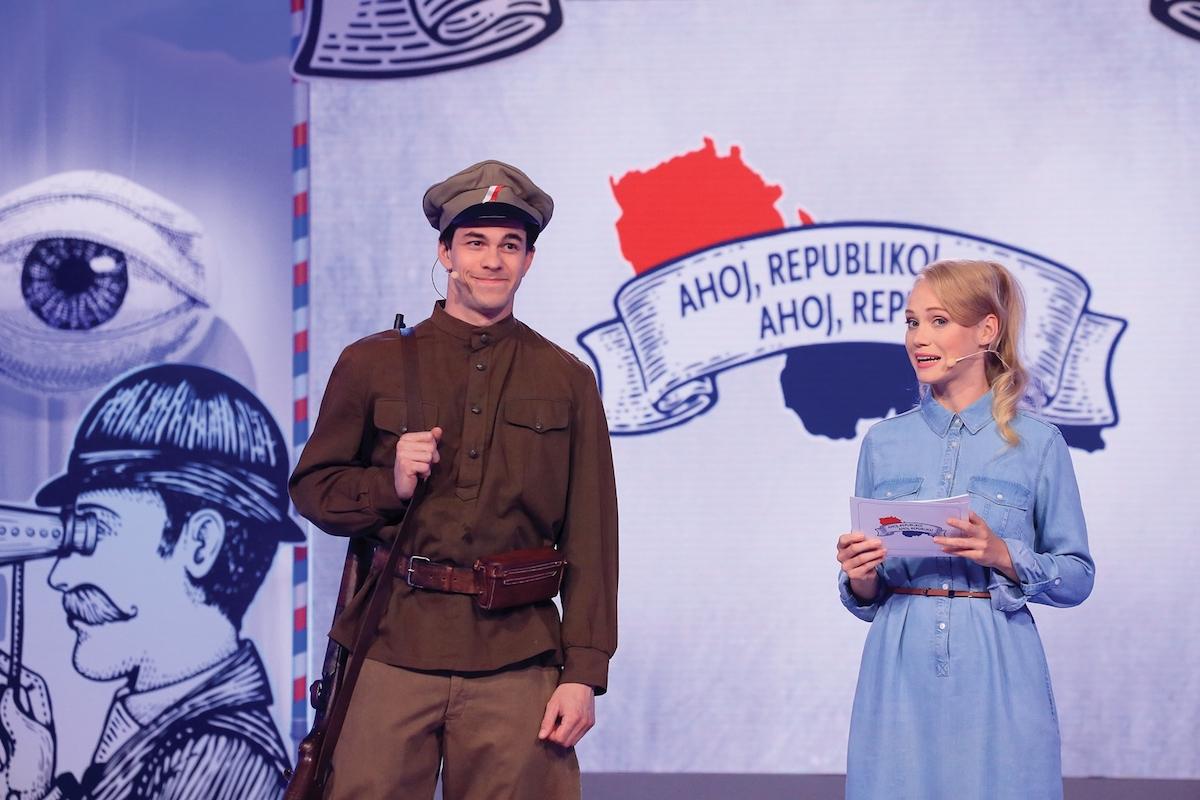 Ahoj, republiko! Foto: Česká televize