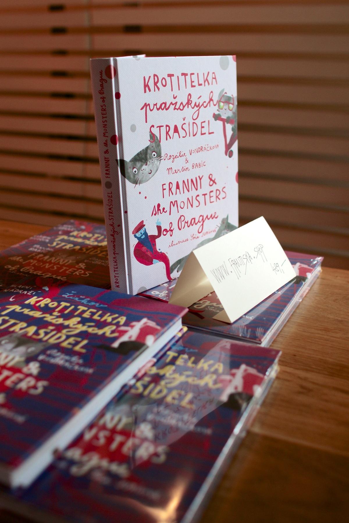 Kniha Krotitelka pražských strašidel je ke koupi jen online