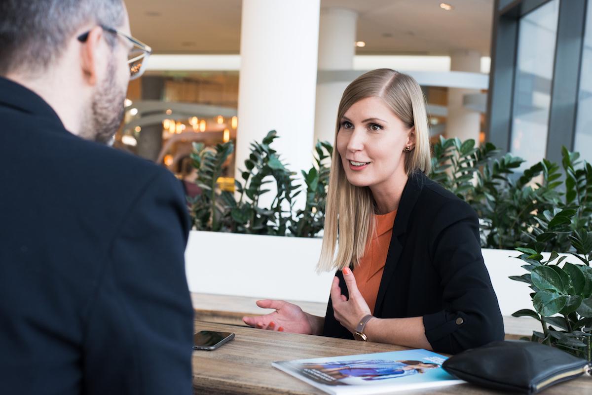 Petra Valentová v rozhovoru pro Retailek. Foto: David Bruner