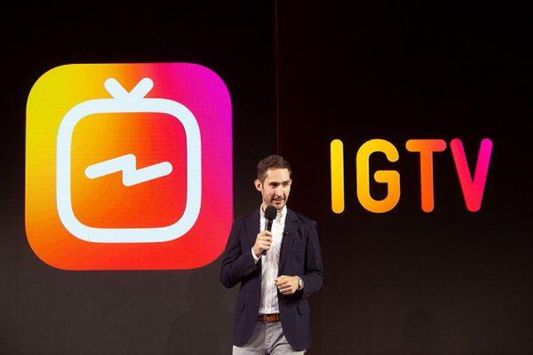 """Instagram spouští """"televizi"""" IGTV, umožní až hodinová videa"""