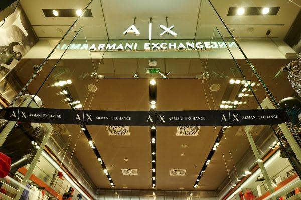 Armani Exchange nově i v Palladiu a Novém Smíchově