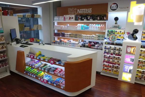 Nestlé předělalo podnikovou prodejnu v Modřanech