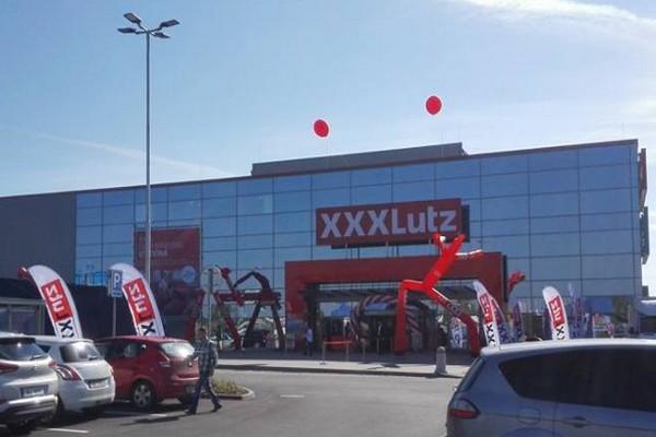 Nový brněnský XXXLutz. Zdroj: Facebook XXXLutz