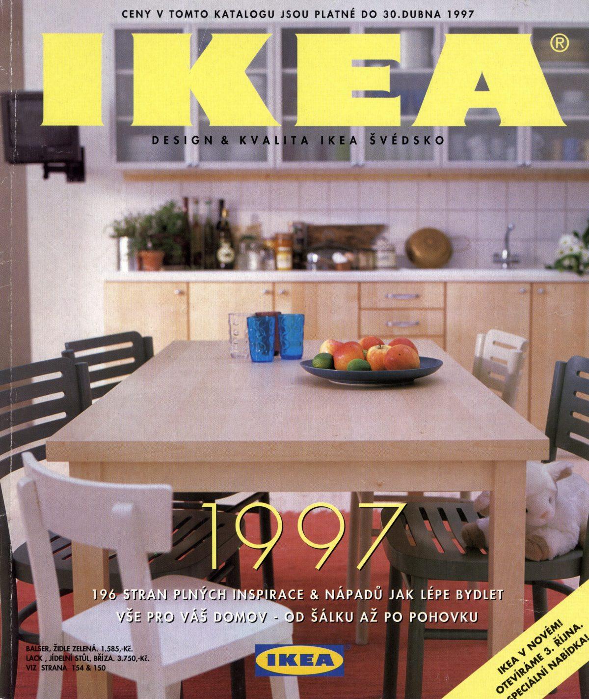 Katalog Ikea pro rok 1997