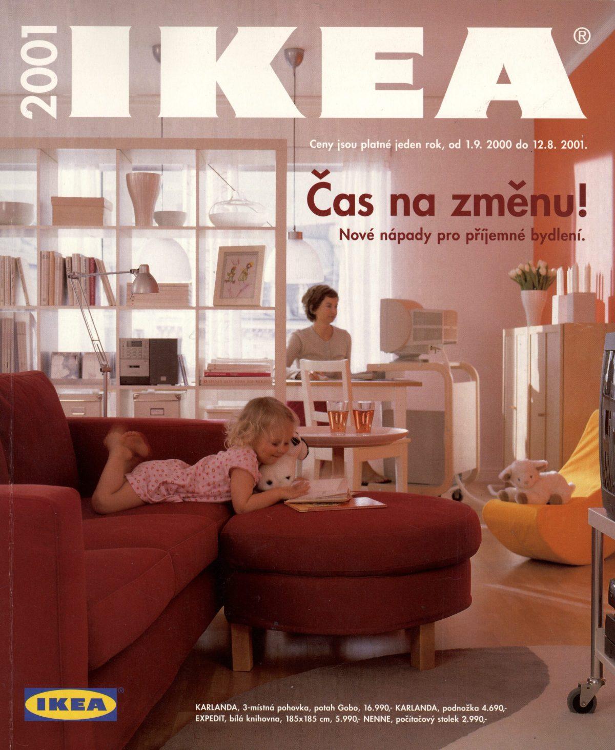 Katalog pro rok 2001