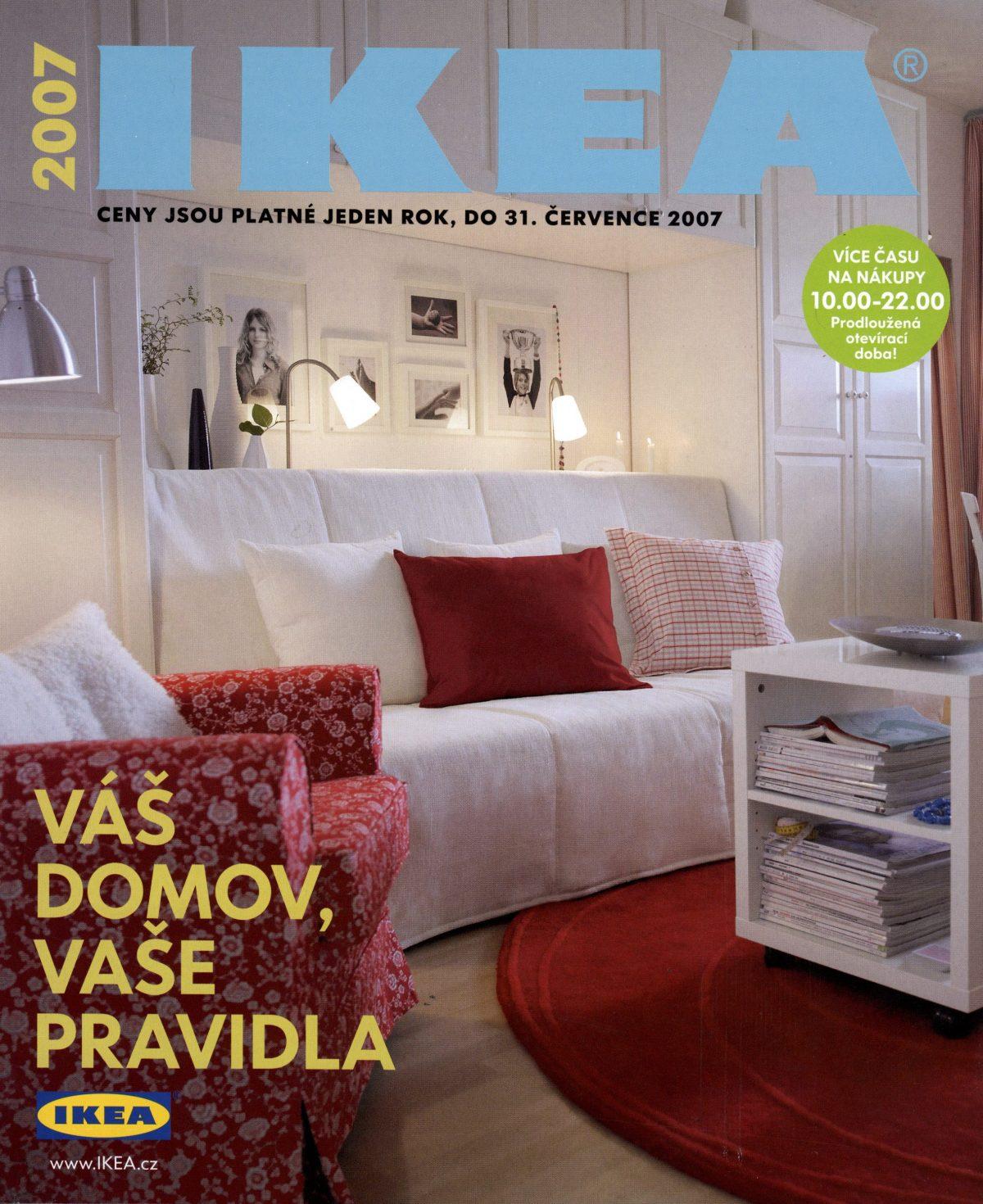 Vydání českého katalogu pro rok 2007