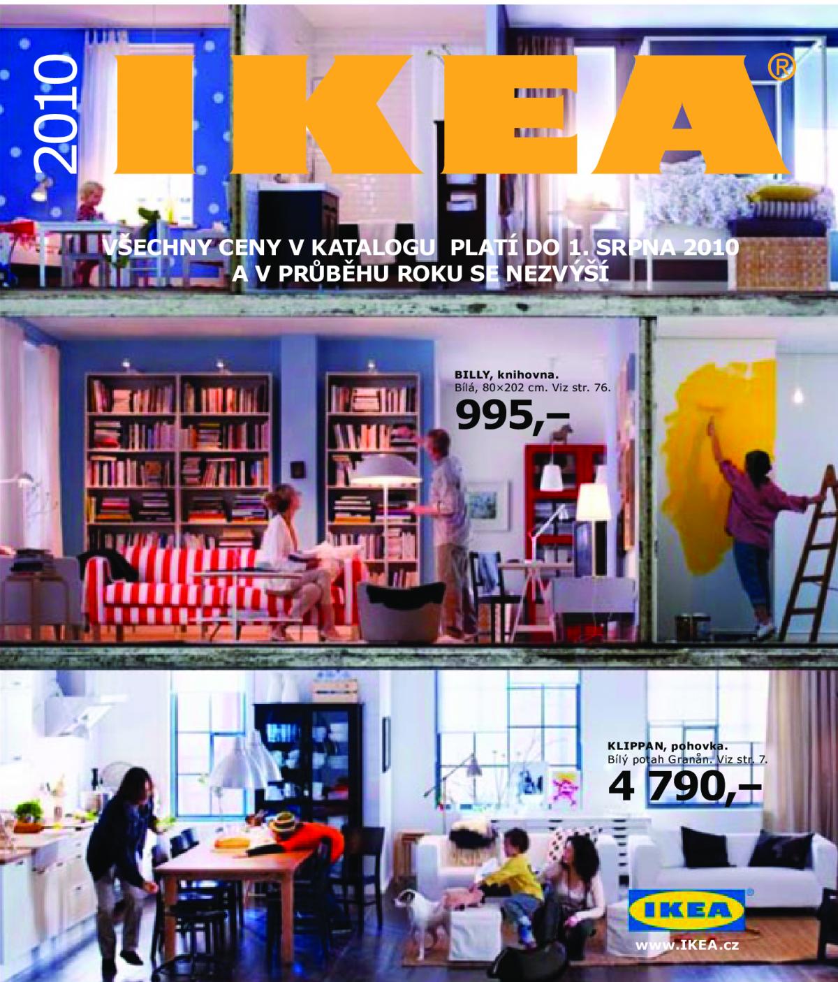 Obal katalogu pro rok 2010