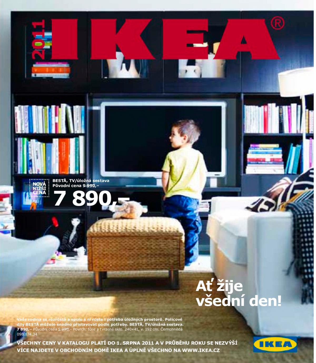 Přední strana katalogu Ikea pro rok 2011