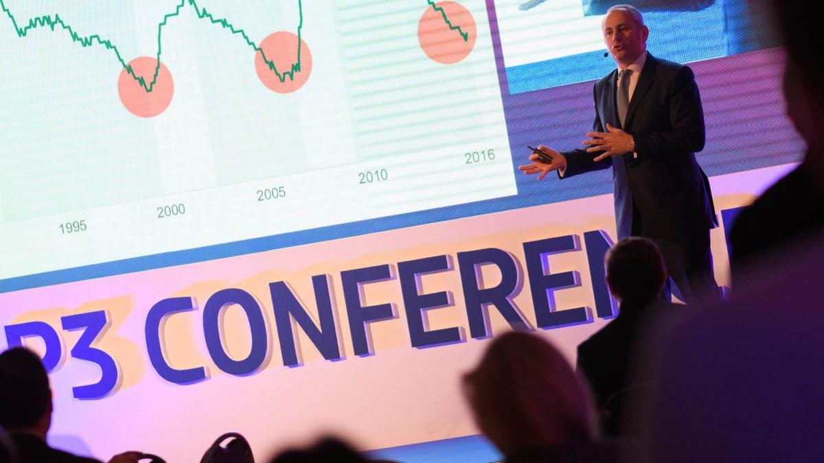 Amaury Gariel z CBRE věří, že budoucností je vertikální logistika. Foto: P3 Conference