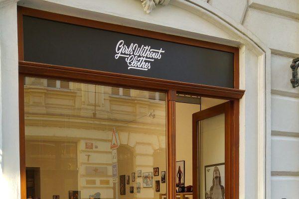 Česká streetwearová značka Girls Without Clothes má první kamenný obchod