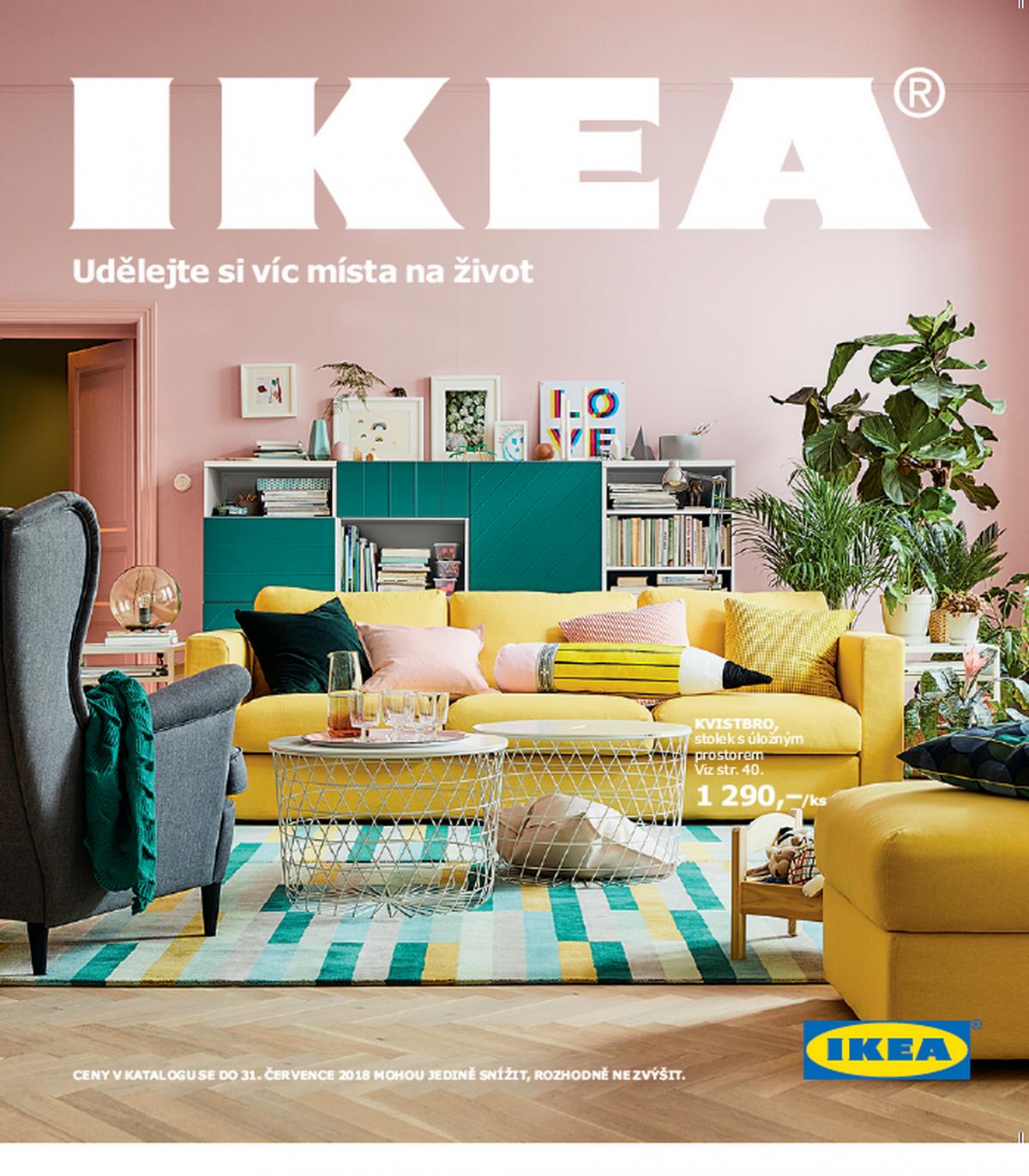 Zatím poslední vydání katalogu Ikea pro letošní rok