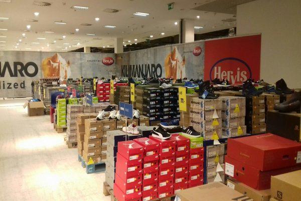 Hervis Sports má pop-up store v Liberci, probíhá tam registrace na Jizerskou 50