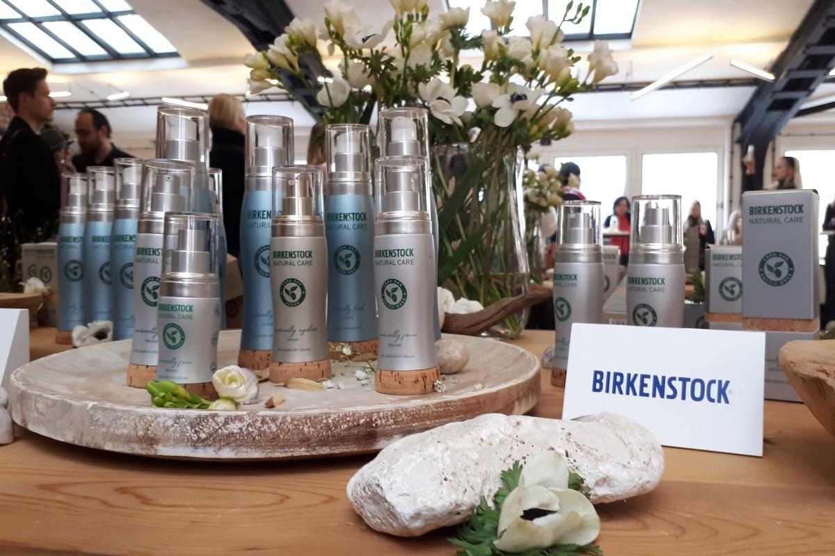 Nové kosmetické výrobky značky Birkenstock. Foto: Lucie Svatošová