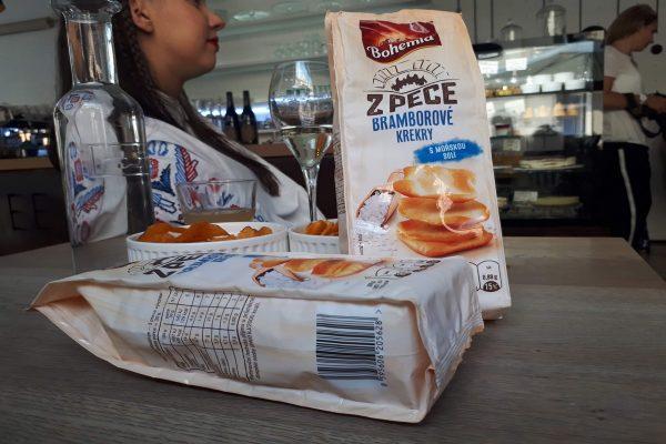 Bohemia Chips uvádí na trh krekry pod novou řadou Z pece